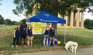 Nashville Enrichery Summer Internship Alex's Lemonade Stand Volunteering