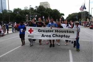 Veteran's Day Parade with American Red Cross
