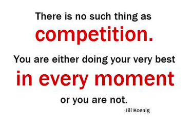 no such thing as competition