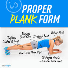 proper plank form
