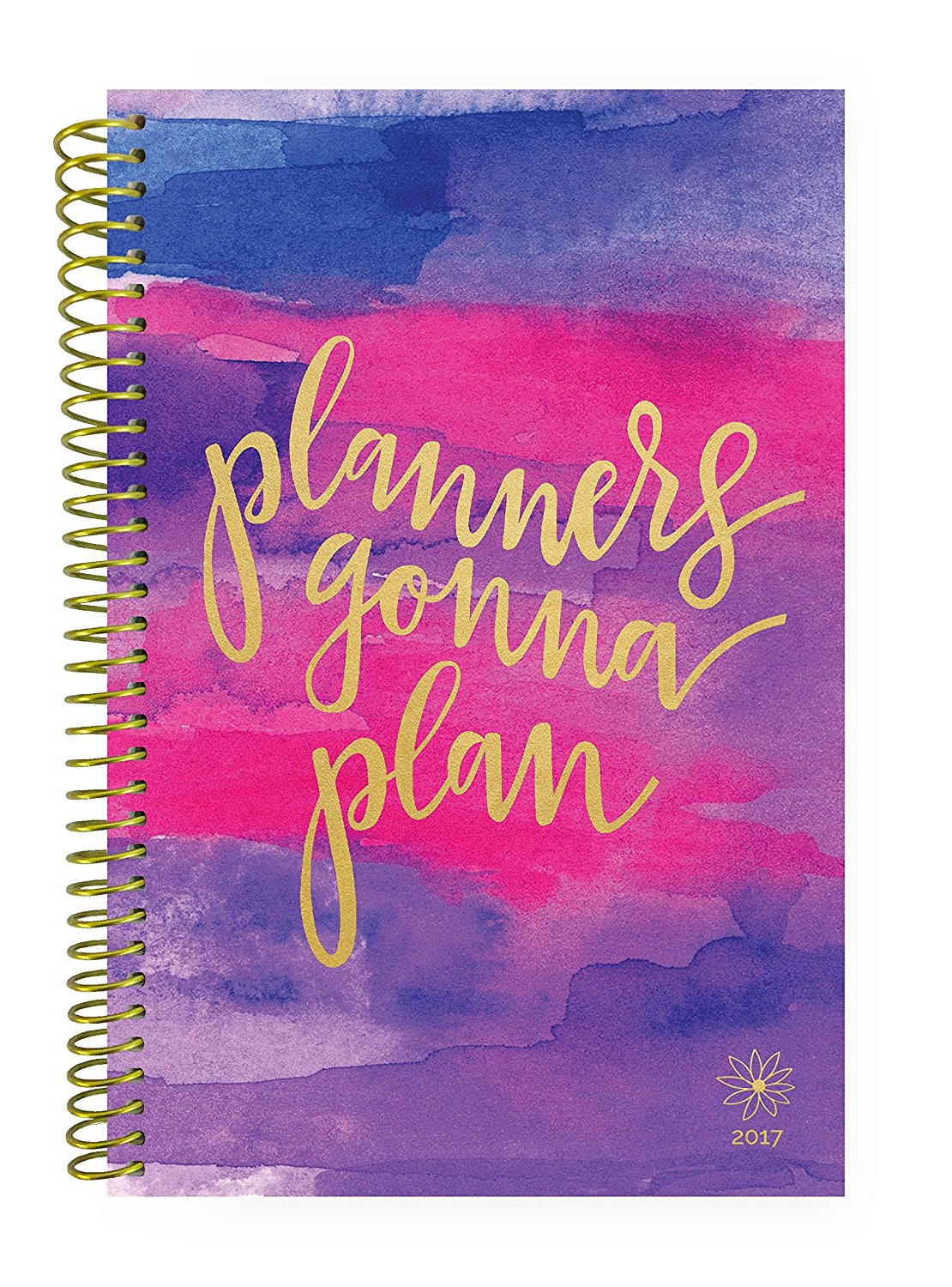 "2017 ""Planners Gonna Plan"" Organizer by bloom daily planners"