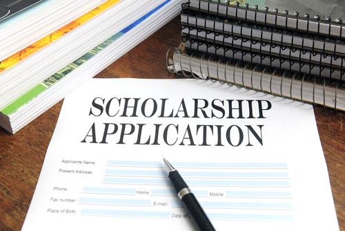 college scholarship application