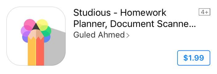 Good Apps for Students - Studios - Homework Planner, Document Scanner