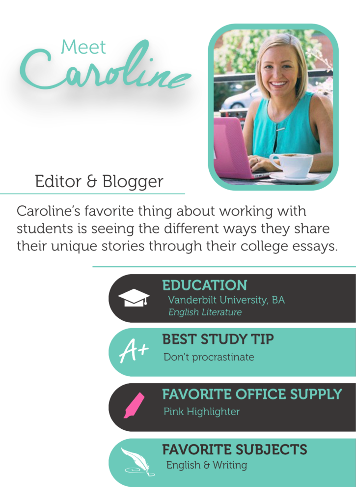 Caroline is a blogger and essay and resume editor at The Enrichery.